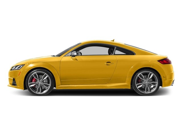 Vegas Yellow 2017 Audi TTS Pictures TTS 2.0 TFSI photos side view