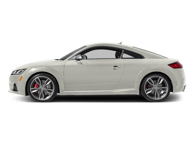 Ibis White 2017 Audi TTS Pictures TTS Coupe 2D AWD photos side view