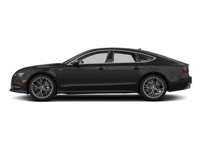 Mythos Black Metallic 2017 Audi A7 Pictures A7 3.0 TFSI Competition Prestige photos side view