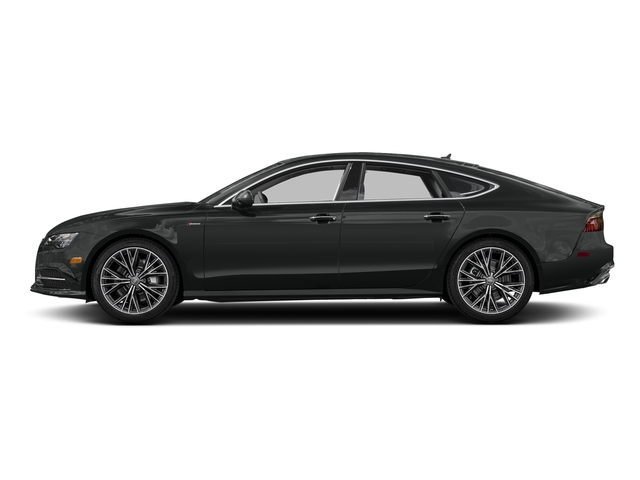 Mythos Black Metallic 2017 Audi A7 Pictures A7 Sedan 4D Competition Prestige AWD photos side view