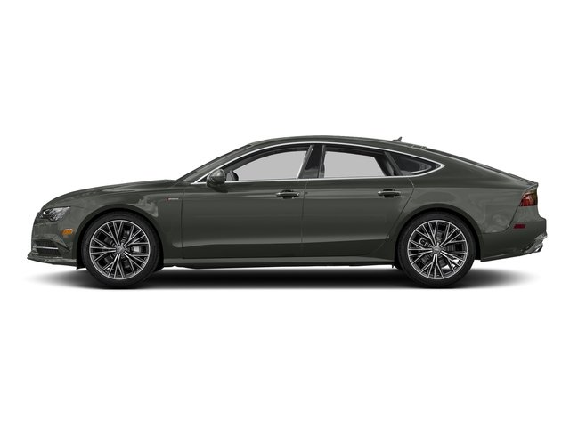 Daytona Gray Pearl Effect 2017 Audi A7 Pictures A7 Sedan 4D Competition Prestige AWD photos side view