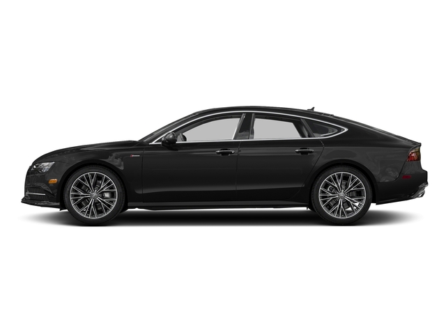Brilliant Black 2017 Audi A7 Pictures A7 Sedan 4D Competition Prestige AWD photos side view