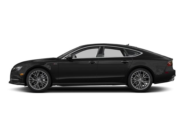 Brilliant Black 2017 Audi A7 Pictures A7 3.0 TFSI Competition Prestige photos side view