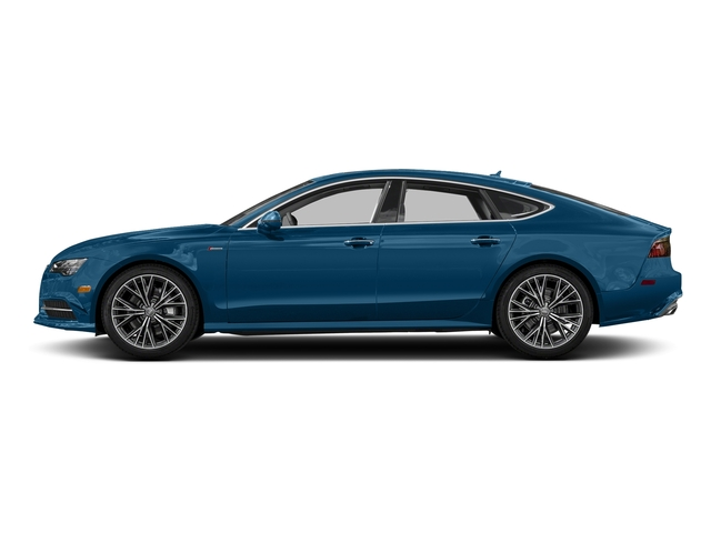 Sepang Blue Pearl Effect 2017 Audi A7 Pictures A7 Sedan 4D Competition Prestige AWD photos side view