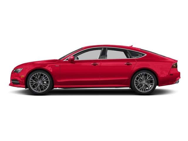 Misano Red Pearl Effect 2017 Audi A7 Pictures A7 3.0 TFSI Competition Prestige photos side view