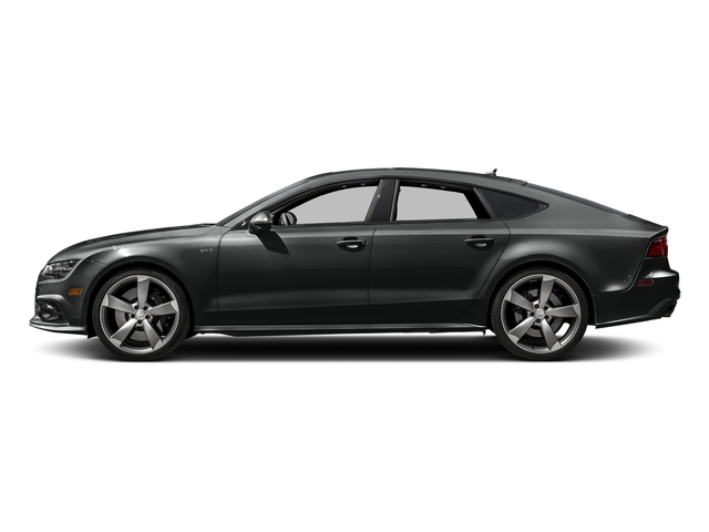 Mythos Black Metallic 2017 Audi S7 Pictures S7 Sedan 4D S7 Prestige AWD photos side view