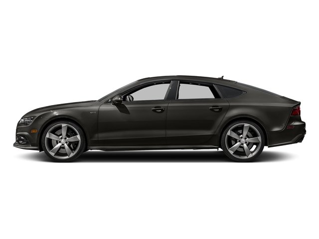 Havanna Black Metallic 2017 Audi S7 Pictures S7 Sedan 4D S7 Prestige AWD photos side view