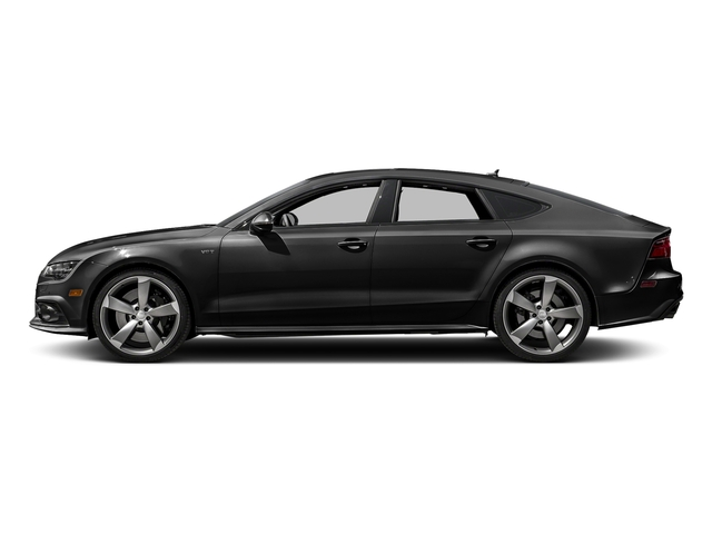Brilliant Black 2017 Audi S7 Pictures S7 Sedan 4D S7 Prestige AWD photos side view
