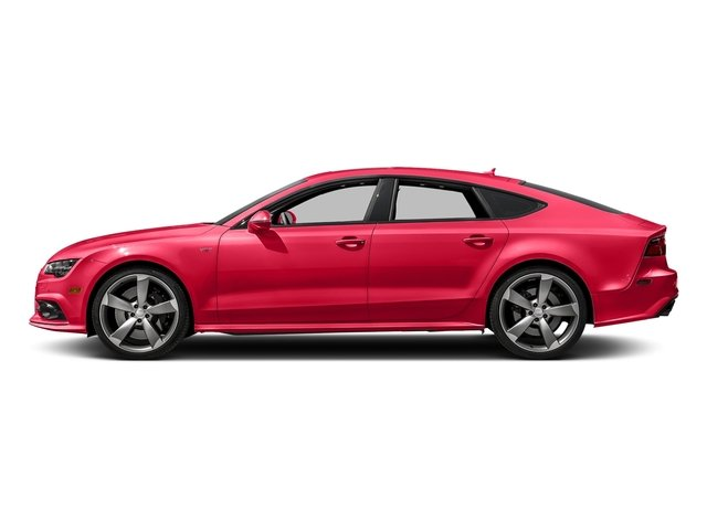 Misano Red Pearl Effect 2017 Audi S7 Pictures S7 Sedan 4D S7 Prestige AWD photos side view