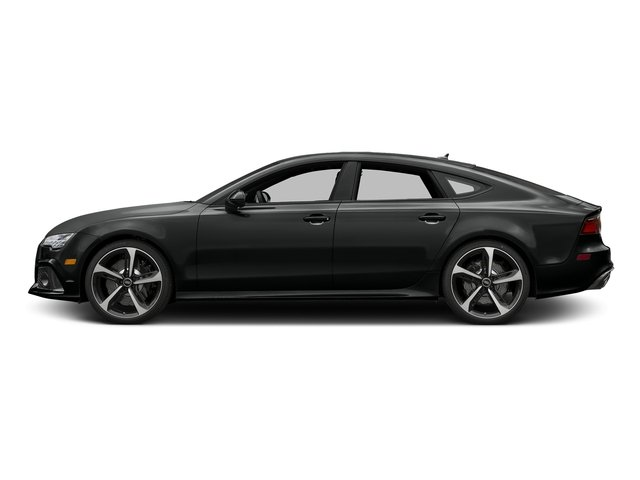 Mythos Black Metallic 2017 Audi RS 7 Pictures RS 7 Sedan 4D RS7 Performance AWD photos side view