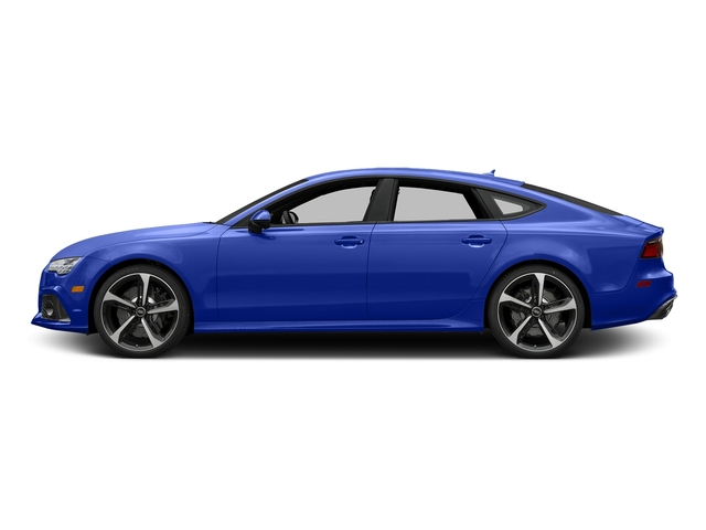 Ascari Blue Metallic 2017 Audi RS 7 Pictures RS 7 Sedan 4D RS7 Performance AWD photos side view