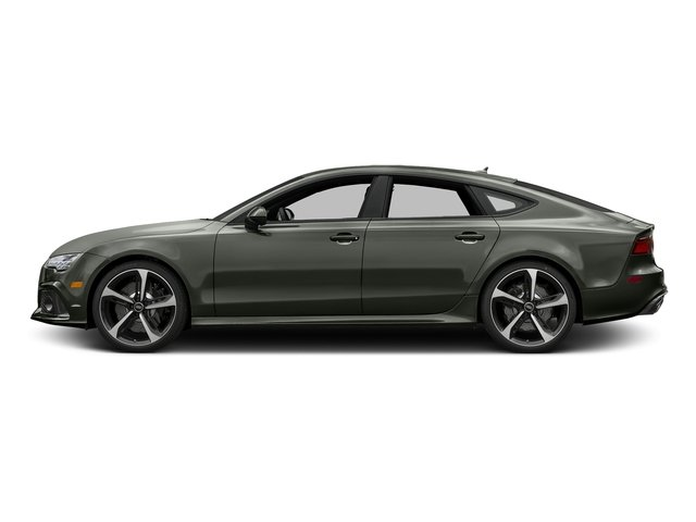 Nardo Gray 2017 Audi RS 7 Pictures RS 7 Sedan 4D RS7 Performance AWD photos side view