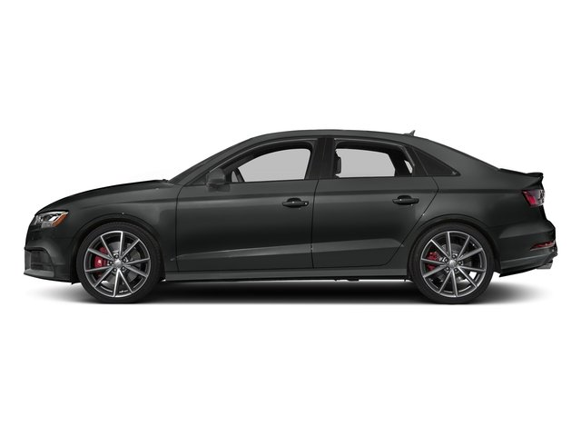 Mythos Black Metallic 2017 Audi S3 Pictures S3 Sedan 4D S3 Premium Plus AWD I4 Turb photos side view