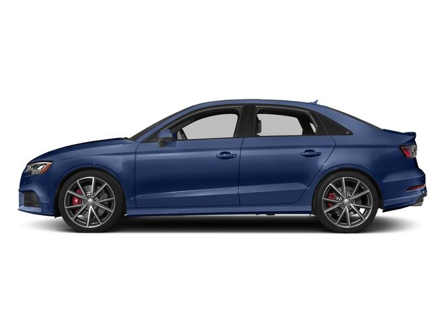 Navarra Blue Metallic 2017 Audi S3 Pictures S3 Sedan 4D S3 Prestige AWD I4 Turbo photos side view