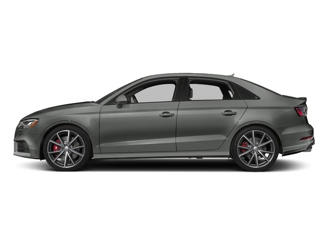 Daytona Gray Pearl Effect 2017 Audi S3 Pictures S3 Sedan 4D S3 Premium Plus AWD I4 Turb photos side view