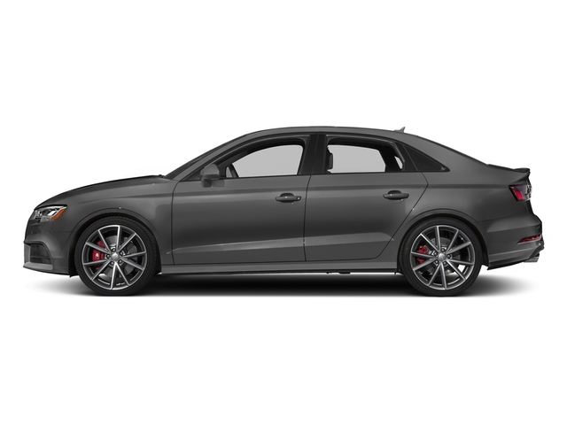 Nano Gray Metallic 2017 Audi S3 Pictures S3 Sedan 4D S3 Premium Plus AWD I4 Turb photos side view