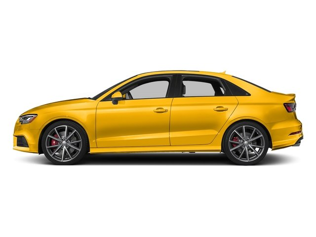 Vegas Yellow 2017 Audi S3 Pictures S3 Sedan 4D S3 Premium Plus AWD I4 Turb photos side view