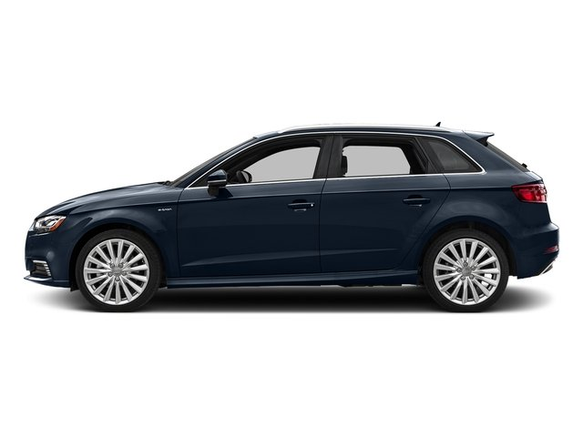 Cosmos Blue Metallic 2017 Audi A3 Sportback e-tron Pictures A3 Sportback e-tron Hatchback 5D E-tron Premium Plus photos side view