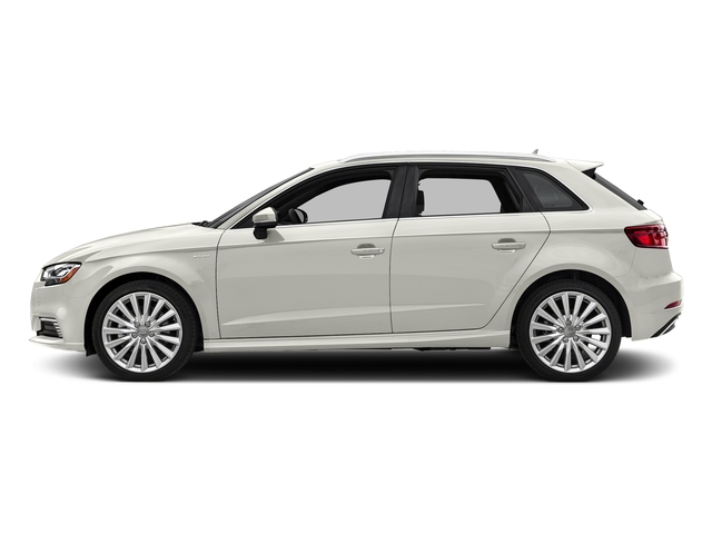 Ibis White 2017 Audi A3 Sportback e-tron Pictures A3 Sportback e-tron Hatchback 5D E-tron Premium Plus photos side view