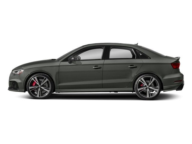 Daytona Gray Pearl Effect 2017 Audi RS 3 Pictures RS 3 Sedan 4D RS3 AWD photos side view