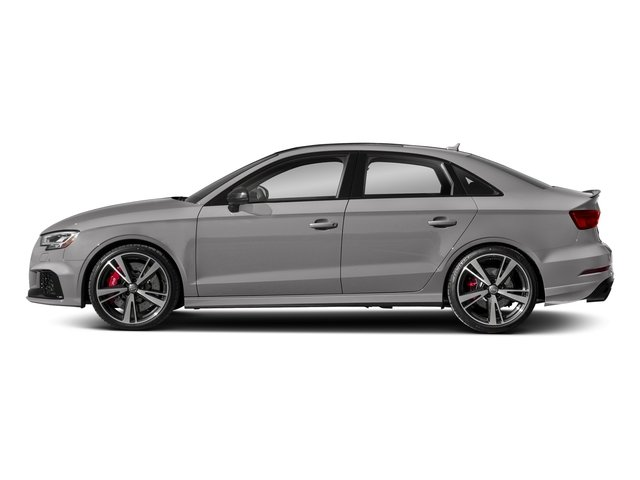 Florett Silver Metallic 2017 Audi RS 3 Pictures RS 3 Sedan 4D RS3 AWD photos side view