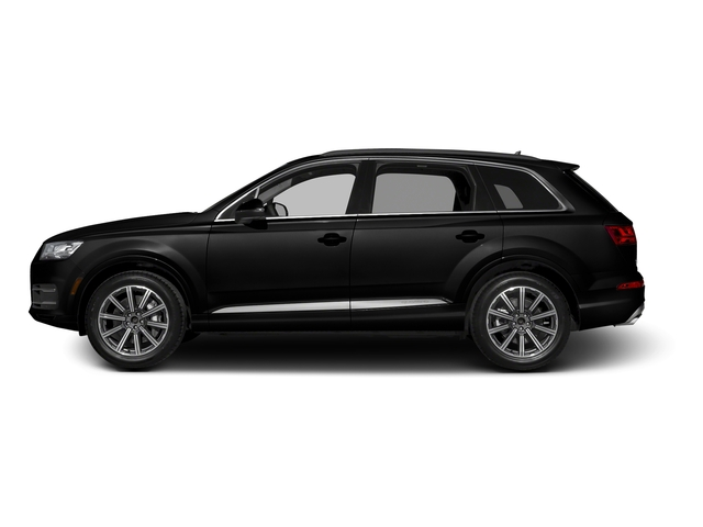 Night Black 2017 Audi Q7 Pictures Q7 2.0 TFSI Premium photos side view