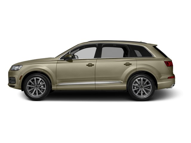 Carat Beige Metallic 2017 Audi Q7 Pictures Q7 2.0 TFSI Premium photos side view