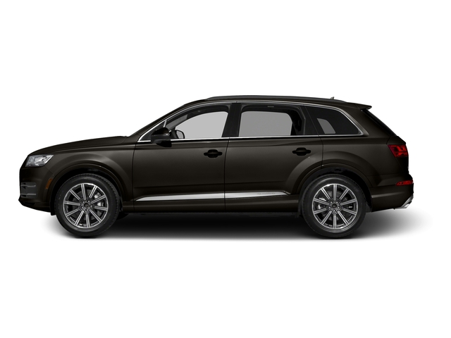 Argus Brown Metallic 2017 Audi Q7 Pictures Q7 2.0 TFSI Premium photos side view