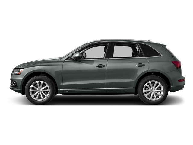 Monsoon Gray Metallic 2017 Audi Q5 Pictures Q5 Utility 4D 3.0T Premium Plus AWD photos side view