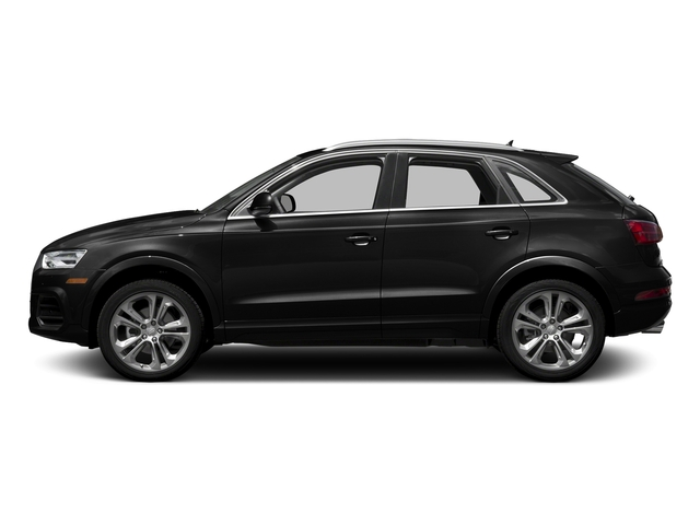 Brilliant Black 2017 Audi Q3 Pictures Q3 2.0 TFSI Premium quattro AWD photos side view
