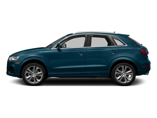Utopia Blue Metallic 2017 Audi Q3 Pictures Q3 2.0 TFSI Premium quattro AWD photos side view