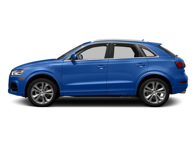 Hainan Blue Metallic 2017 Audi Q3 Pictures Q3 2.0 TFSI Premium quattro AWD photos side view