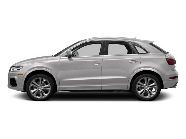 Florett Silver Metallic 2017 Audi Q3 Pictures Q3 2.0 TFSI Premium quattro AWD photos side view