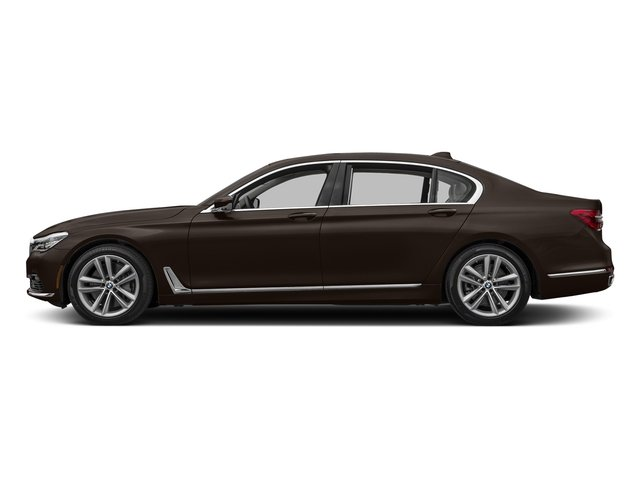 Almandine Brown Metallic 2017 BMW 7 Series Pictures 7 Series Sedan 4D 750xi AWD Turbo photos side view