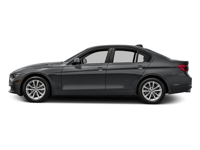 Mineral Gray Metallic 2017 BMW 3 Series Pictures 3 Series Sedan 4D 320i I4 Turbo photos side view