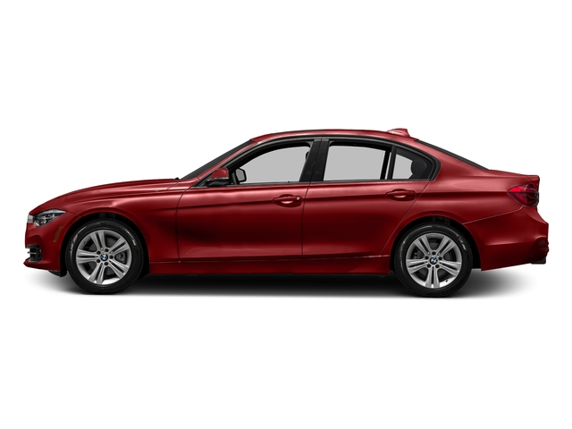 Melbourne Red Metallic 2017 BMW 3 Series Pictures 3 Series Sedan 4D 330i photos side view