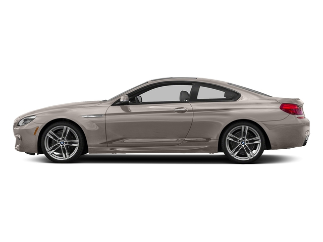 Cashmere Silver Metallic 2017 BMW 6 Series Pictures 6 Series Coupe 2D 650i V8 photos side view