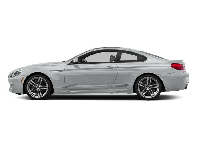 Glacier Silver Metallic 2017 BMW 6 Series Pictures 6 Series Coupe 2D 650i V8 photos side view