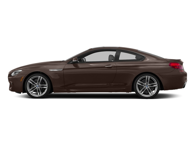 Frozen Bronze Metallic 2017 BMW 6 Series Pictures 6 Series Coupe 2D 650i V8 photos side view