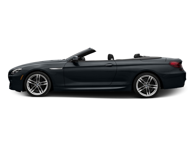 Carbon Black Metallic 2017 BMW 6 Series Pictures 6 Series Convertible 2D 650i V8 photos side view