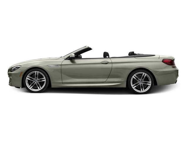Moonstone Metallic 2017 BMW 6 Series Pictures 6 Series Convertible 2D 650i V8 photos side view