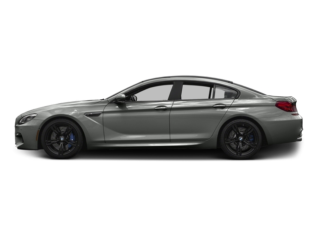 Space Gray Metallic 2017 BMW M6 Pictures M6 Sedan 4D M6 V8 photos side view