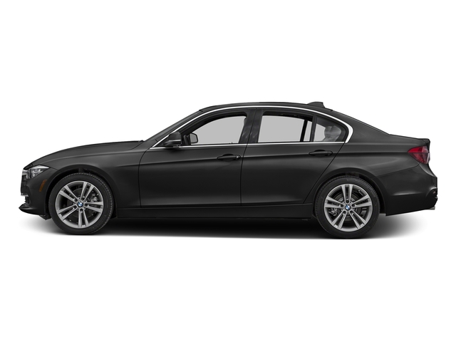Black Sapphire Metallic 2017 BMW 3 Series Pictures 3 Series Sedan 4D 328d I4 T-Diesel photos side view