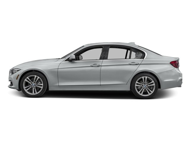 Glacier Silver Metallic 2017 BMW 3 Series Pictures 3 Series Sedan 4D 328d I4 T-Diesel photos side view