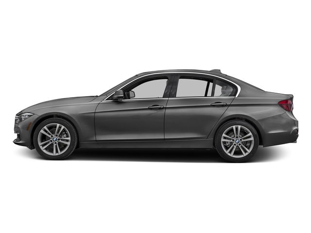 Platinum Silver Metallic 2017 BMW 3 Series Pictures 3 Series Sedan 4D 328d I4 T-Diesel photos side view