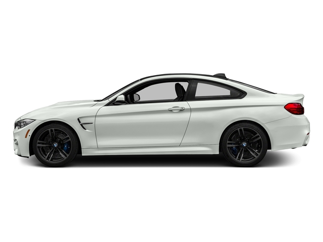 Alpine White 2017 BMW M4 Pictures M4 Coupe 2D M4 I6 Turbo photos side view