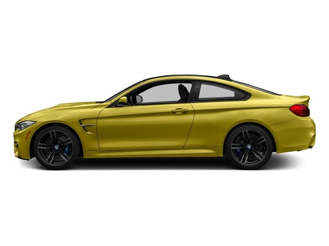Austin Yellow Metallic 2017 BMW M4 Pictures M4 Coupe 2D M4 I6 Turbo photos side view