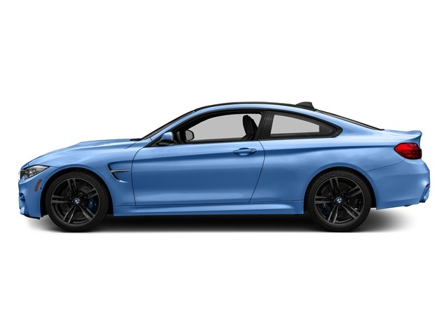 Yas Marina Blue Metallic 2017 BMW M4 Pictures M4 Coupe 2D M4 I6 Turbo photos side view