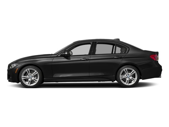 Jet Black 2017 BMW 3 Series Pictures 3 Series Sedan 4D 340i I6 Turbo photos side view
