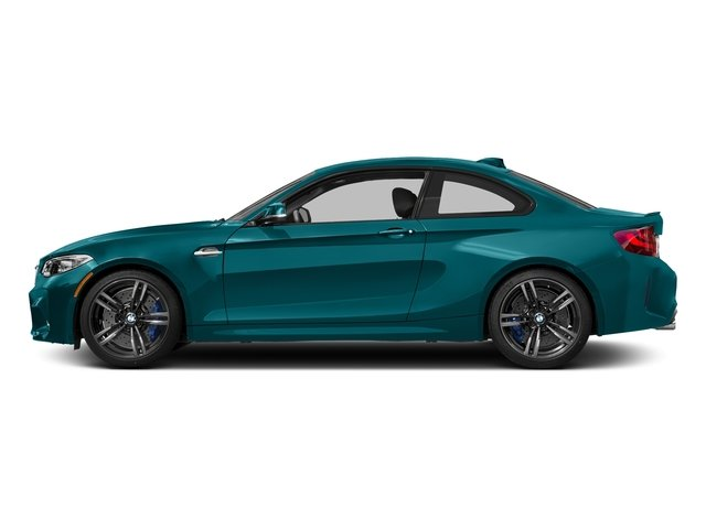 Long Beach Blue Metallic 2017 BMW M2 Pictures M2 Coupe 2D M2 I6 Turbo photos side view